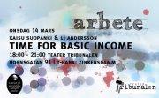 FILMAD FÖRELÄSNING - Time for Basic Income med Kaisu Suopanki och Li Andersson