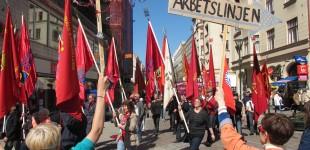 AKTION - Vänsterpartiet, F! och Sossarna väljer FRITIDSLINJEN!