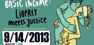 Tyskland demonstrerar för basinkomst 14 sept