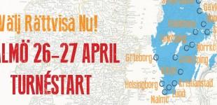 Basinkomst Malmö på Välj Rättvisa Nu! 26 april