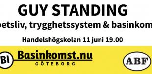 FÖRELÄSNING GÖTEBORG - Guy Standing 11/6