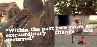 VIDEO - Basinkomst pilotprojekten i Indien
