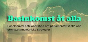 JÖNKÖPING: Panelsamtal och workshop om parlamentaristiska och utomparlamentariska strategier // 10 okt